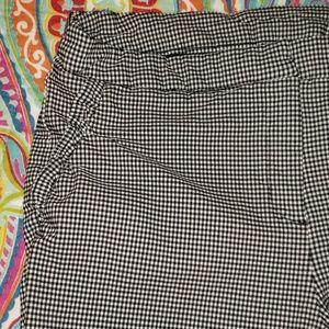 Checkered legging pants